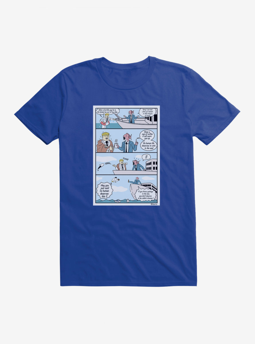 Business Fish Don't Litter T-Shirt