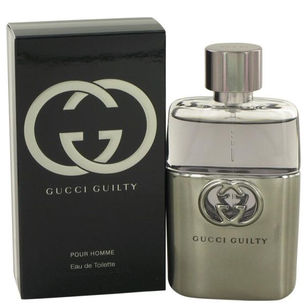 Gucci - Gucci Guilty Pour Homme : Eau de Toilette Spray 1.7 Oz / 50 ml