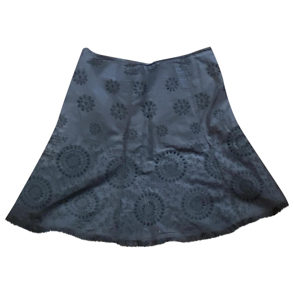 Prada - Jupe   pour femme en coton - noir