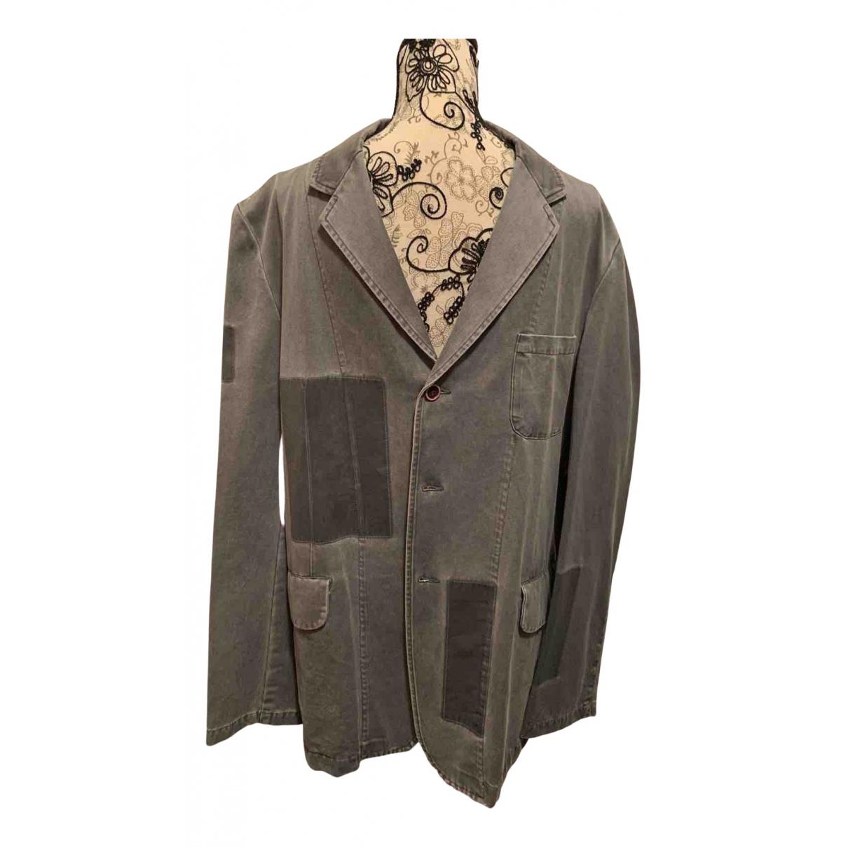 Y-3 By Yohji Yamamoto N Grey Cotton jacket  for Men 5 0 - 6