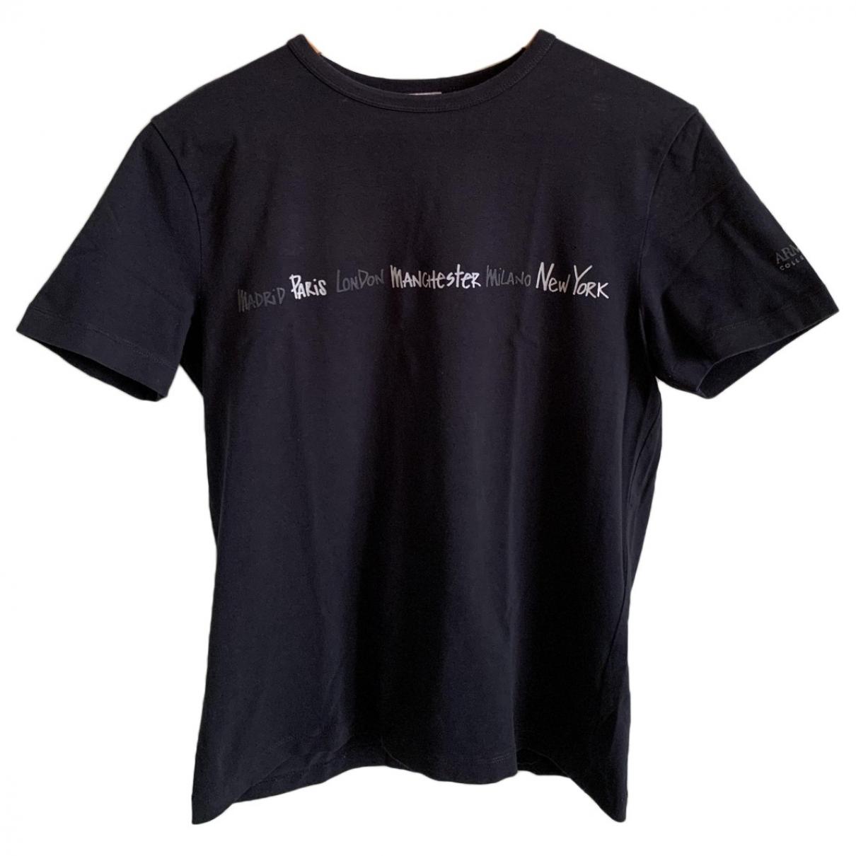 Armani Collezioni \N T-Shirts in  Blau Baumwolle