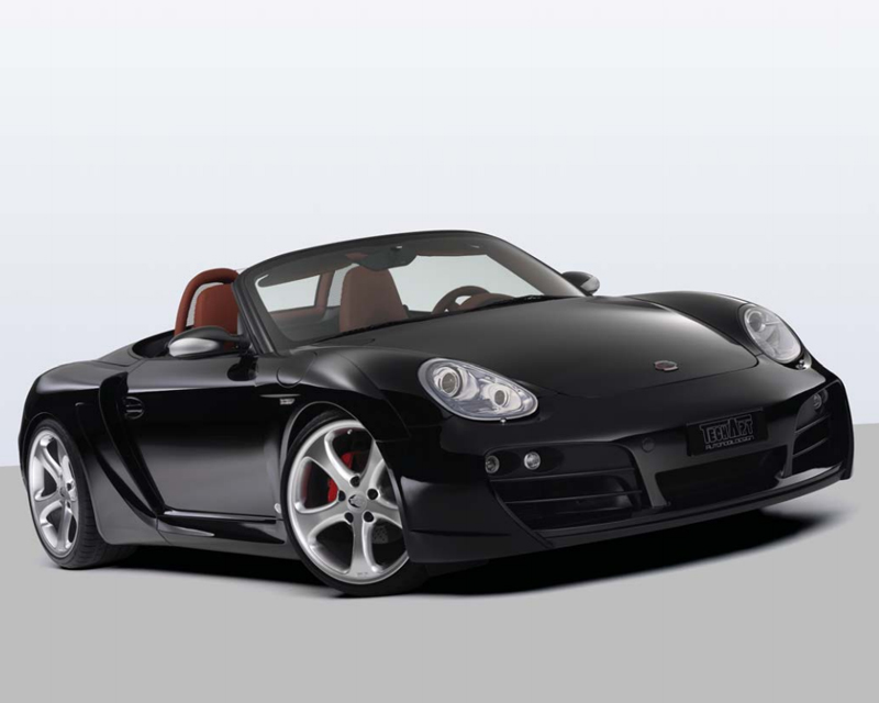 TechArt 087.100.052.009BLK Wide Body Kit with Black Running Lights Porsche Boxster without OE DRL 05-12