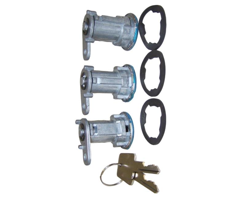 Steinjager J0052391 Door Lock Cylinder Set of 3  Jeep Cherokee XJ 1984-1990