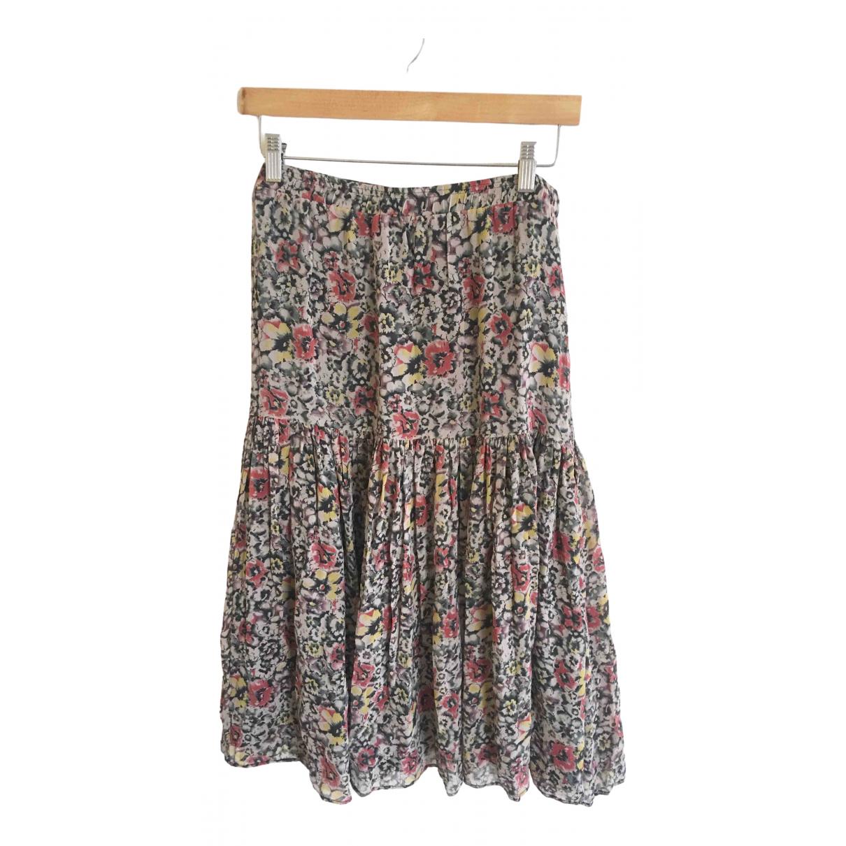 Vanessa Bruno Athe \N Multicolour Silk skirt for Women 42 FR