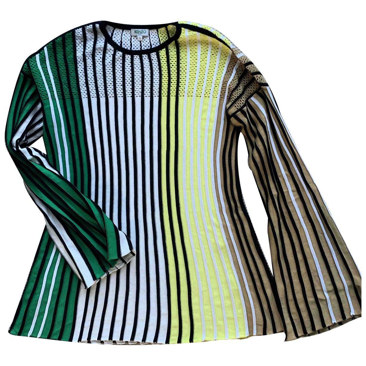 Kenzo - Pull   pour femme - multicolore