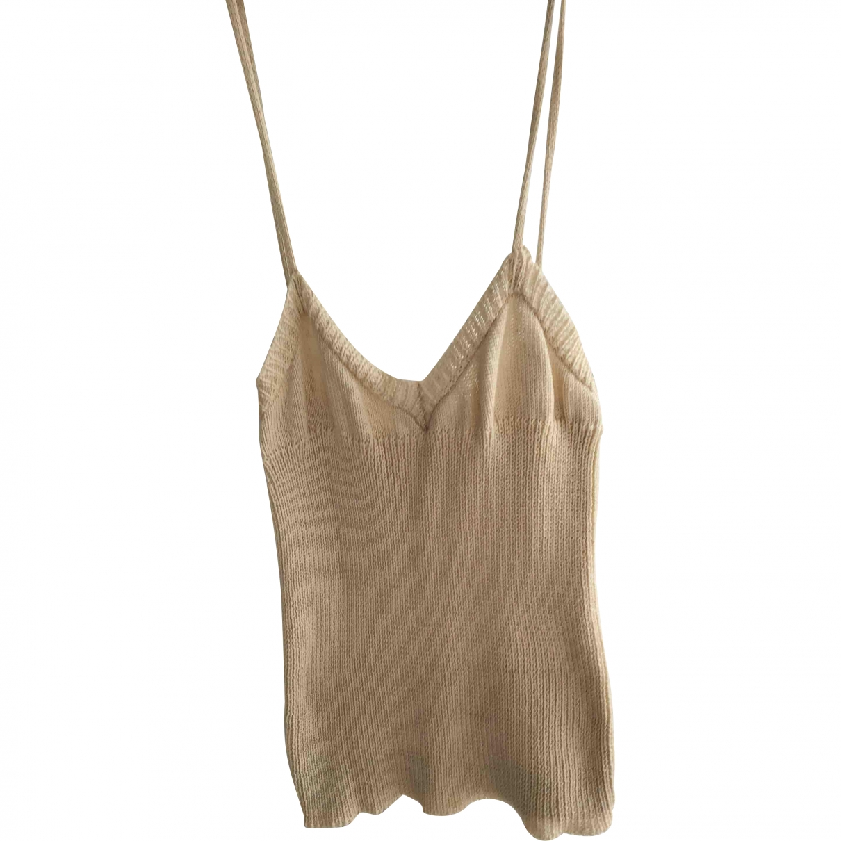 Dior \N Top in  Beige Baumwolle