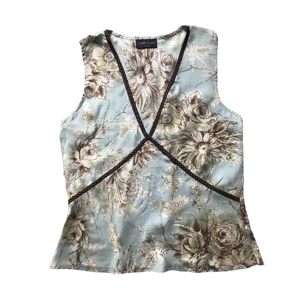 Stella Forest \N Green Silk  top for Women 40 FR