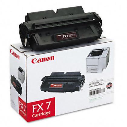 Canon FX7 7621A001AA Original Black Toner Cartridge