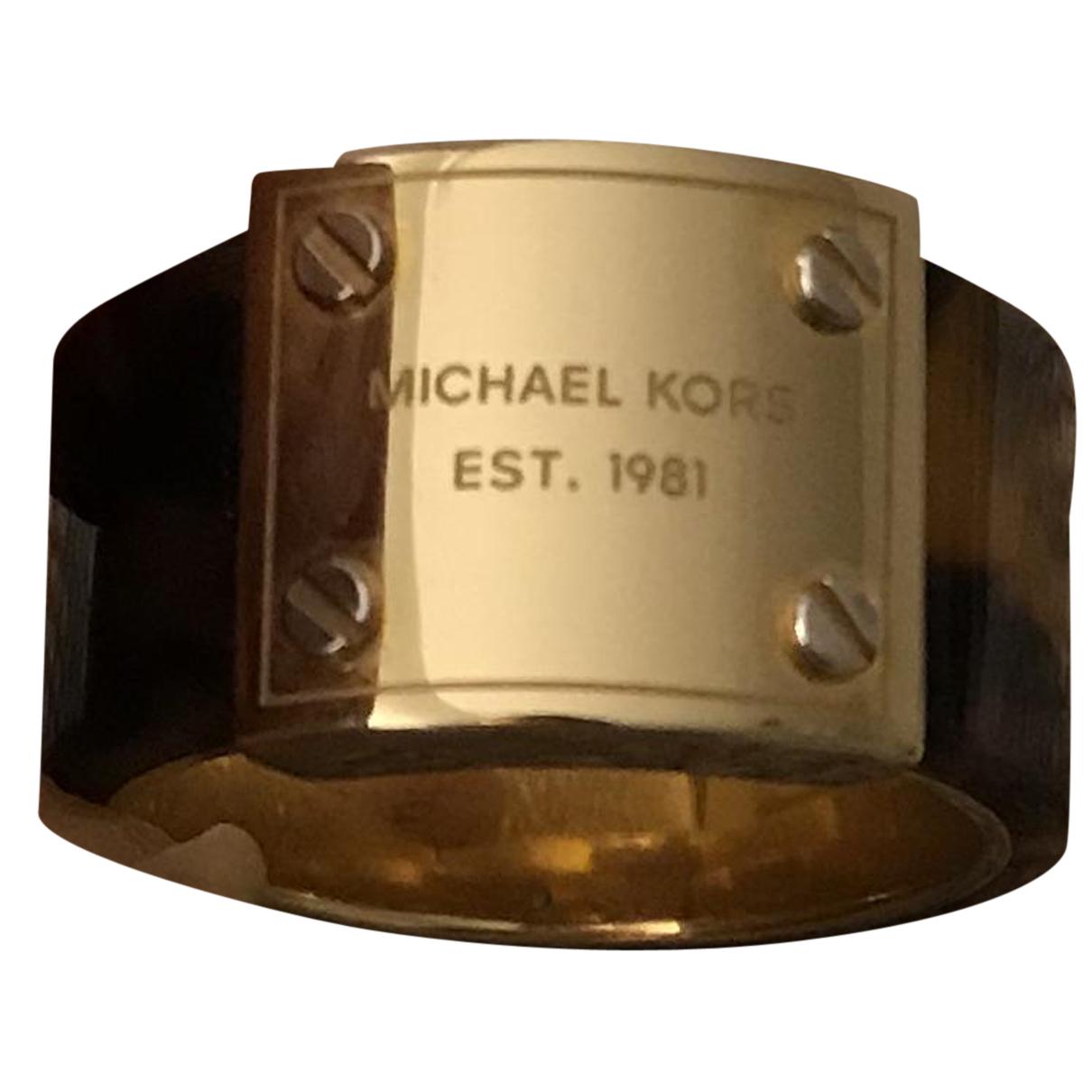 Michael Kors - Bague   pour femme en plaque or - dore