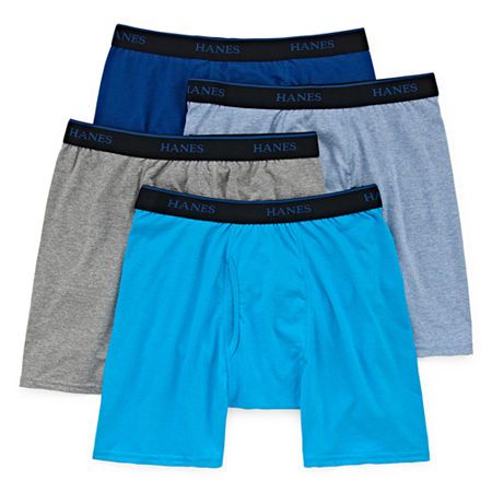 Hanes Comfortblend 4 Pack Boxer Briefs, Small , Multiple Colors