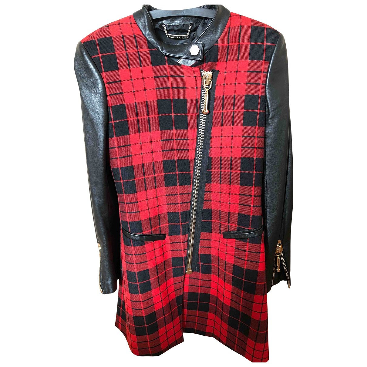 Philipp Plein \N Multicolour Wool coat for Women S International