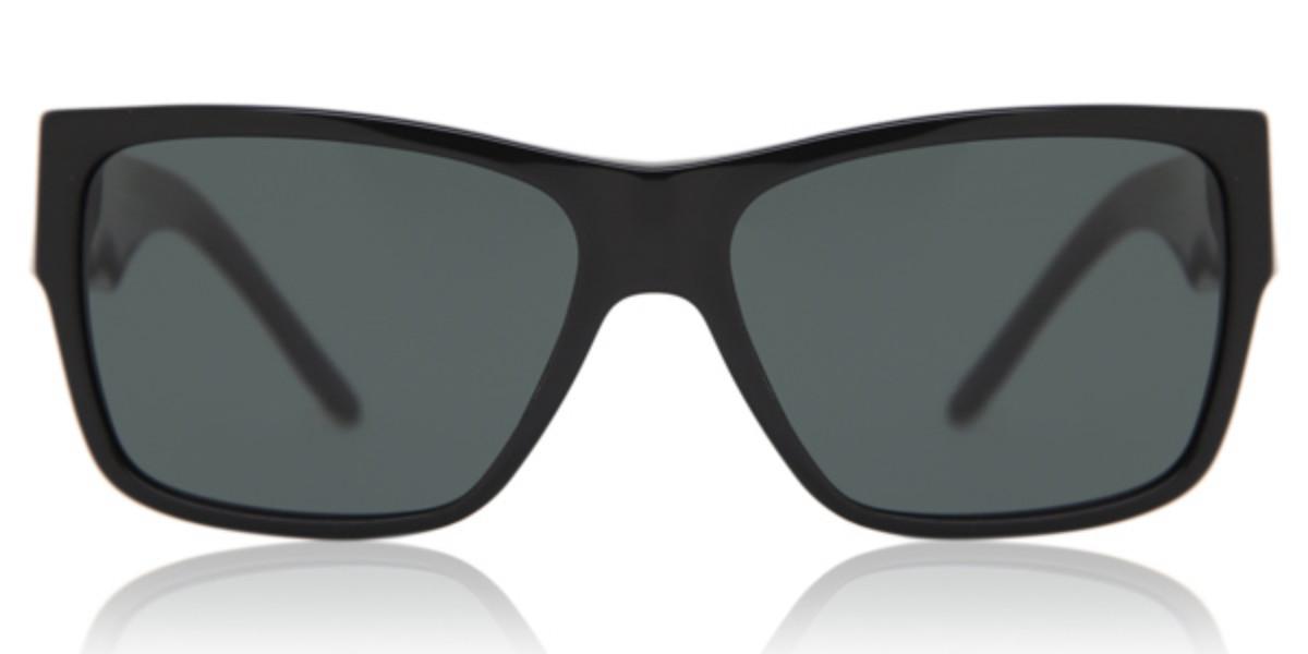 Versace VE4296 GB1/87 Men's Sunglasses Black Size 59