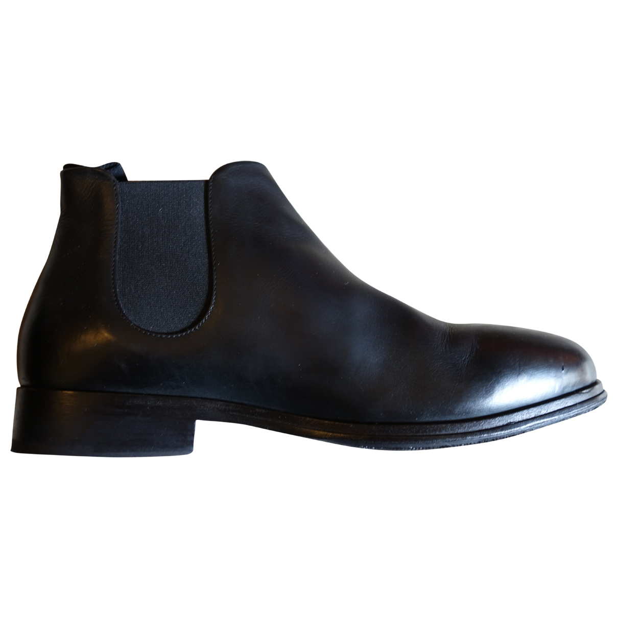 Marsèll \N Black Leather Boots for Men 43.5 EU