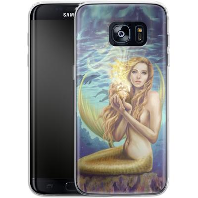 Samsung Galaxy S7 Edge Silikon Handyhuelle - Selina Fenech - Holding Magic von TATE and CO