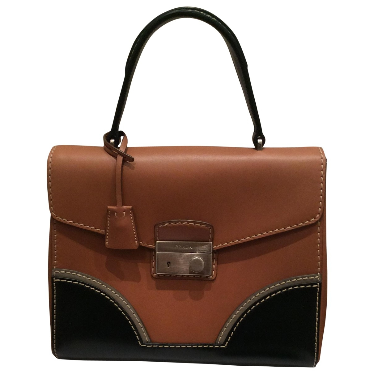 Prada \N Camel Leather handbag for Women \N