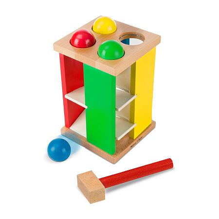 Melissa & Doug Pound And Roll Play Tower, One Size , Multiple Colors