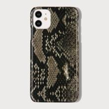 Snakeskin Print iPhone Case