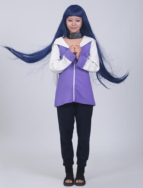 Milanoo Halloween Traje para cosplay de Hyuuga Hinata de Naruto
