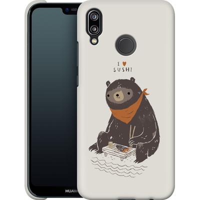 Huawei P20 Lite Smartphone Huelle - Sushi Bear von Louis Ros