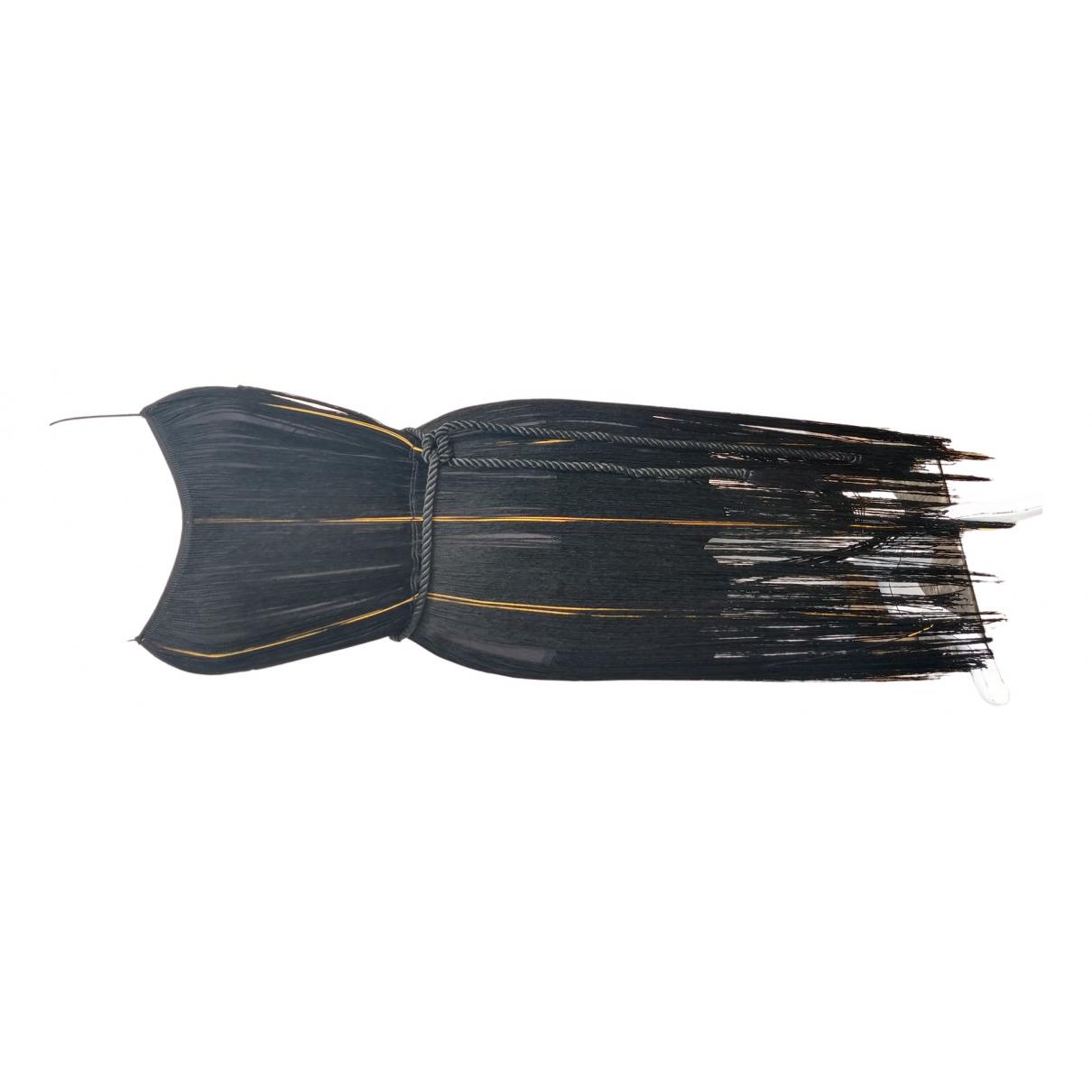 Rachel Zoe - Robe   pour femme en soie - noir