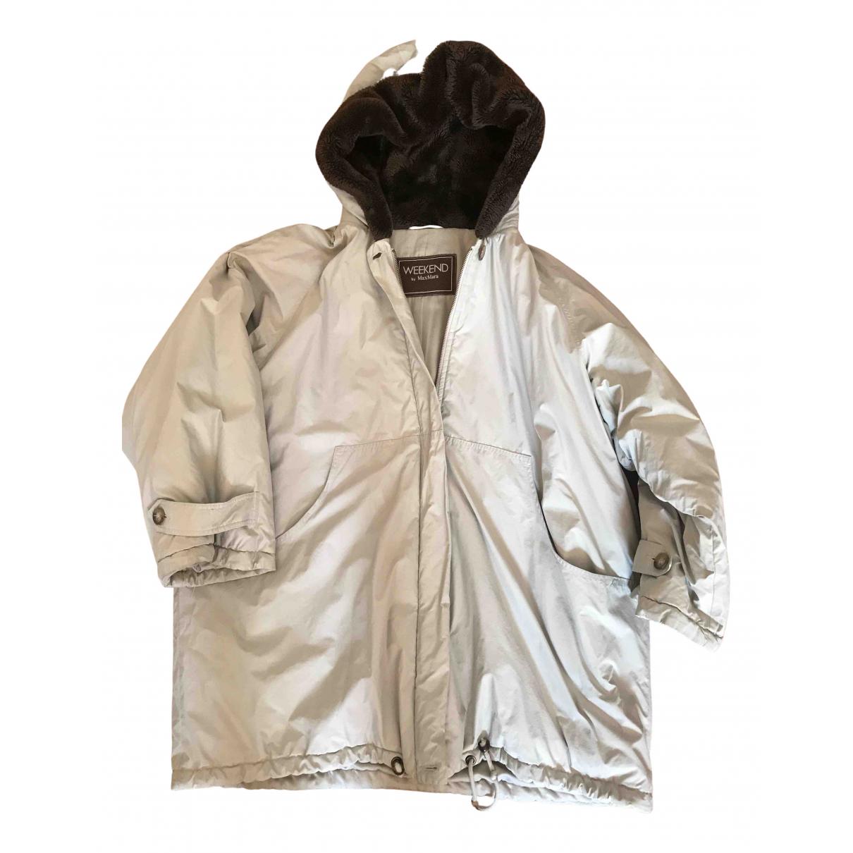 Max Mara Weekend N Khaki coat for Women 44 IT
