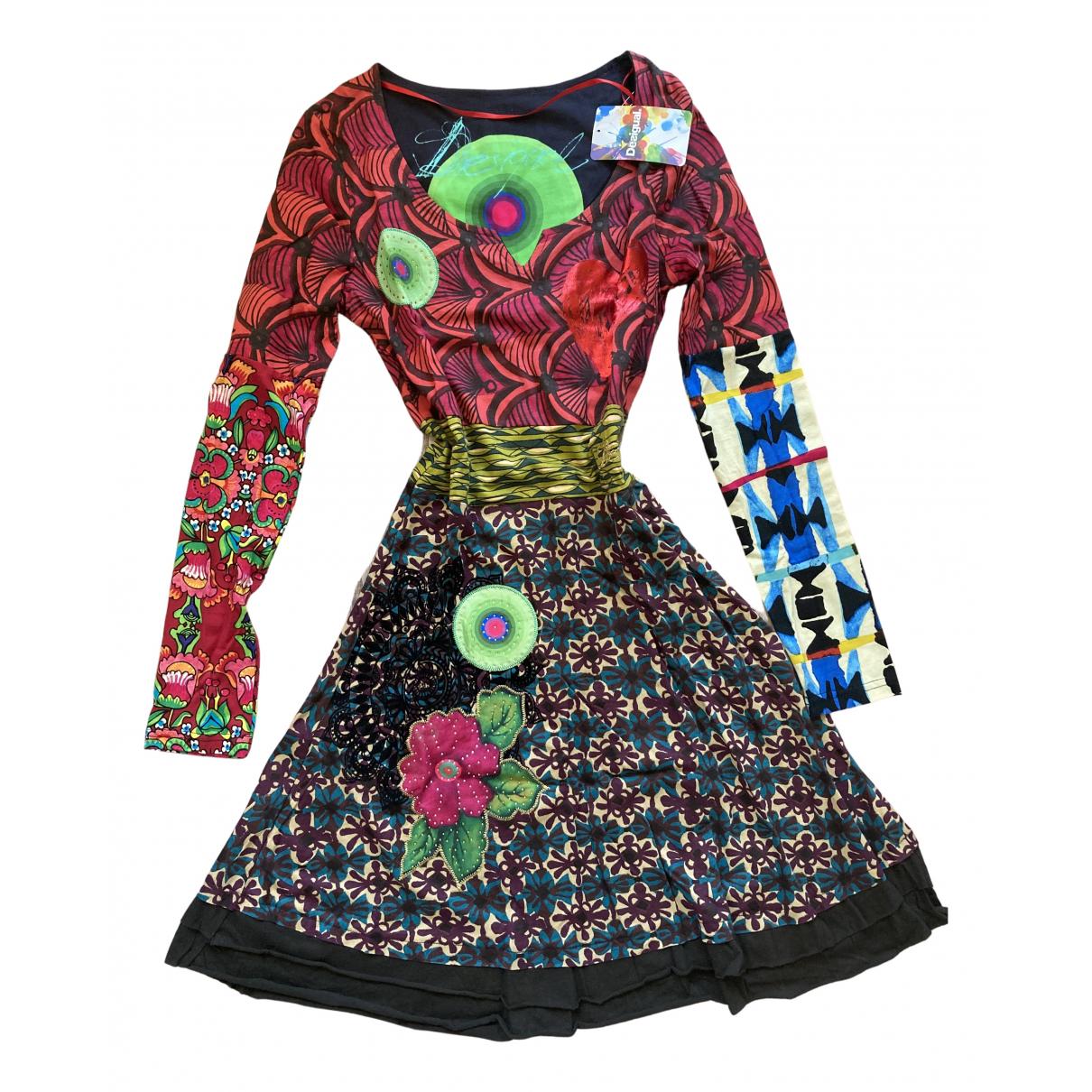 Desigual \N Kleid in  Bunt Baumwolle