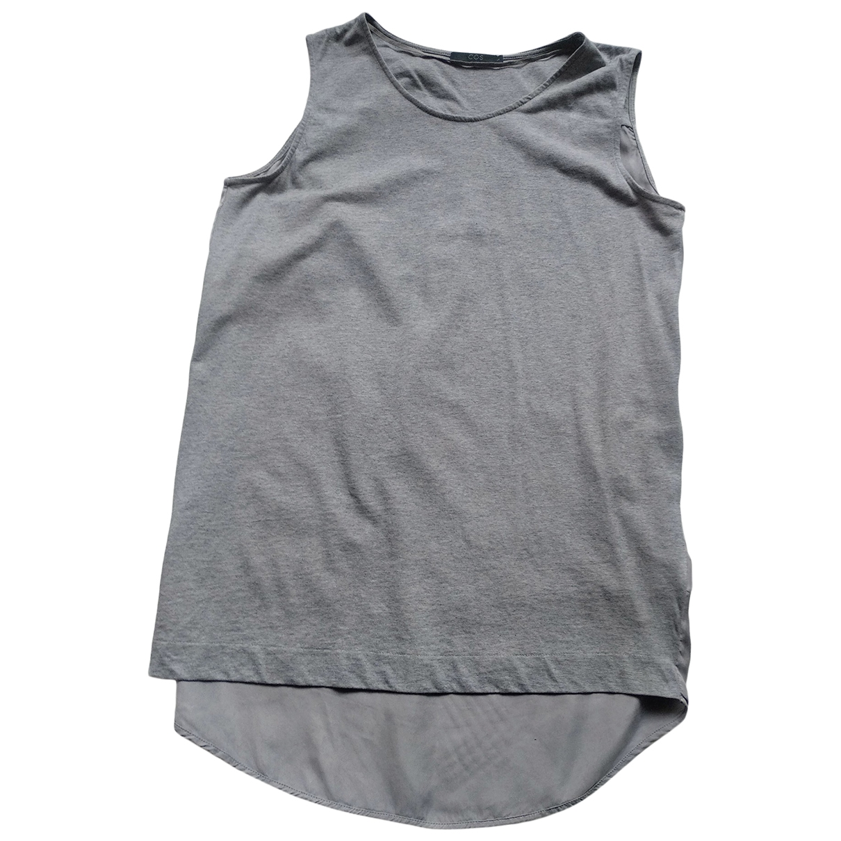 Cos \N Grey Cotton  top for Women S International