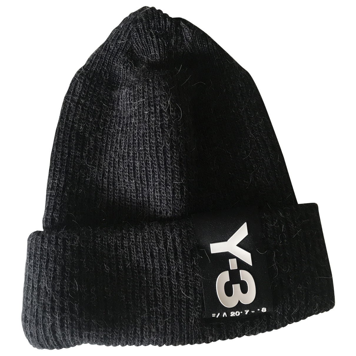 Y-3 \N Black Wool hat & pull on hat for Men 23 Inches