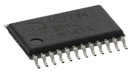 Analog Devices AD7794BRUZ, 24-bit Serial ADC Differential Input, 24-Pin TSSOP