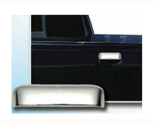 Quality Automotive Accessories ABS   Chrome Tailgate Handle Cover Kit Mazda B-Series 2006