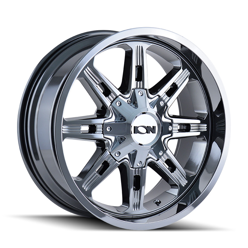 ION 184 Chrome 20x9 8x165.1 | 8x170 0mm 130.8mm Wheel