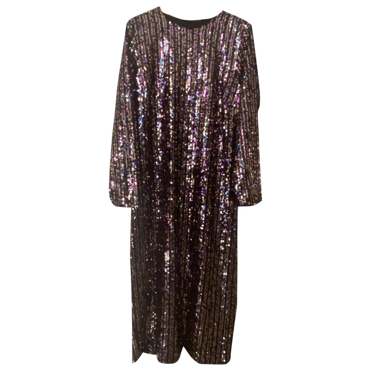 Zara \N Kleid in  Bunt Mit Pailletten