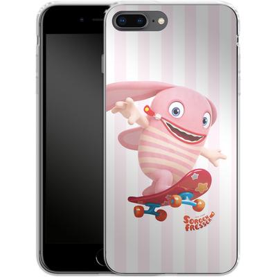 Apple iPhone 8 Plus Silikon Handyhuelle - Sorgenfresser Pomm von Sorgenfresser