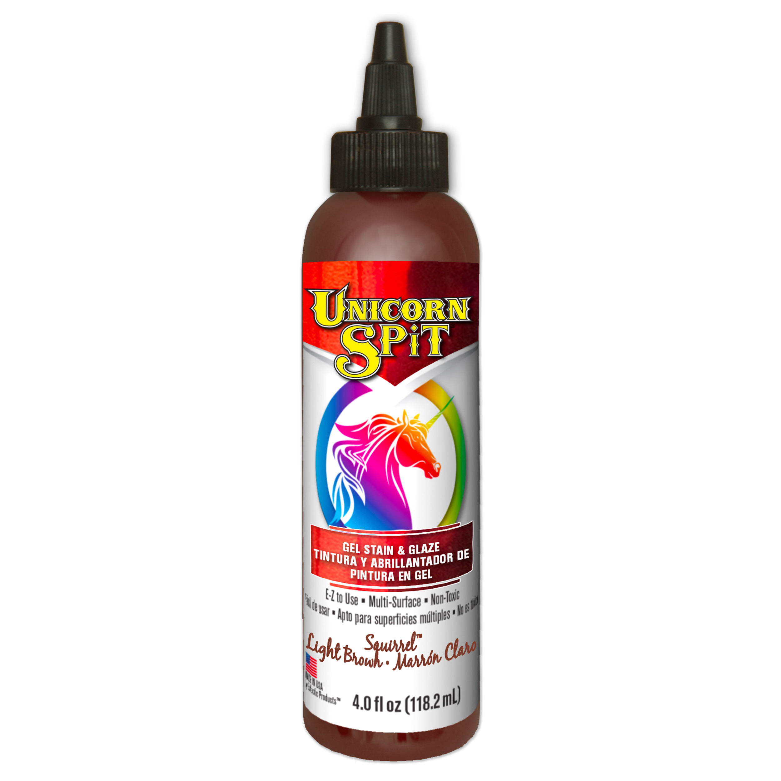 Spit Squirrel Gel Stain and Glaze Water Based 8 oz