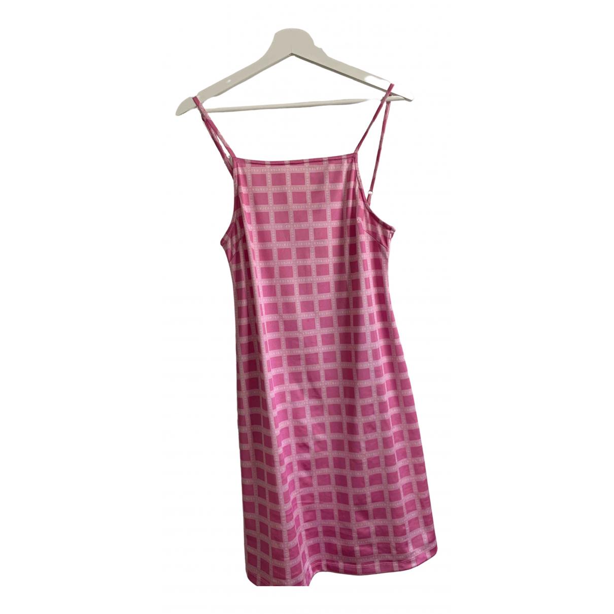 Hosbjerg \N Kleid in  Rosa Polyester