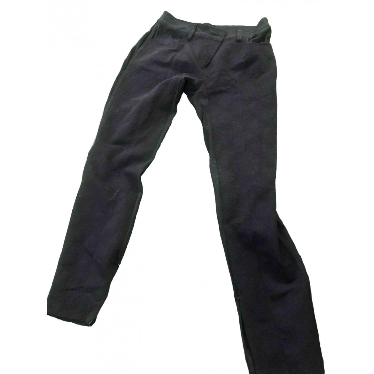 Pantalon en Elastano Negro D&g