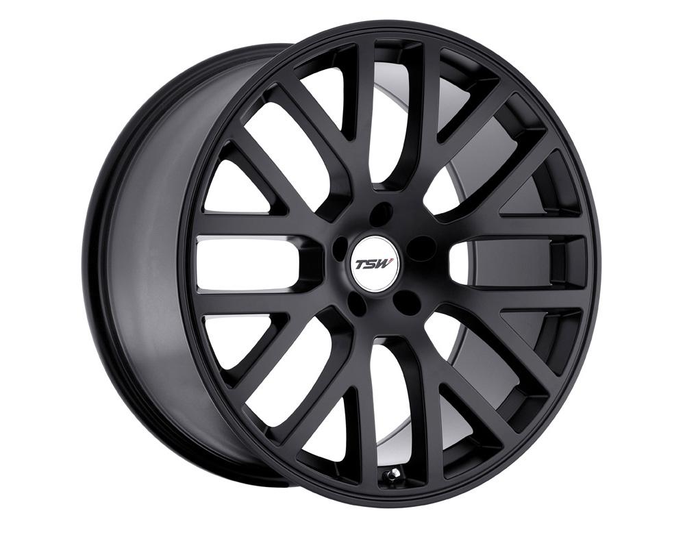 TSW Donington Wheel 17x7 4x100 40mm Matte Black