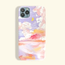Colorful Cloud Pattern iPhone Case