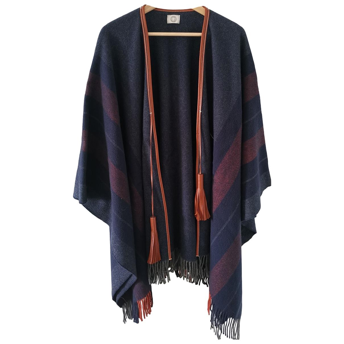 Hermes - Pull   pour femme en laine - violet