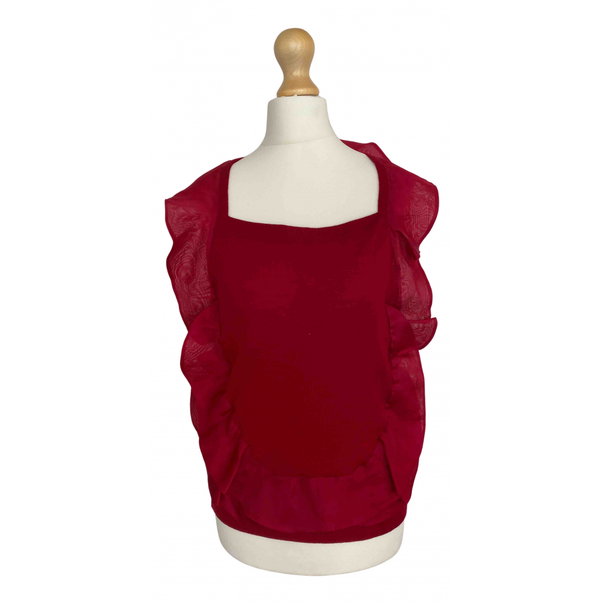 Red Valentino Garavani N Red Wool  top for Women 40 IT