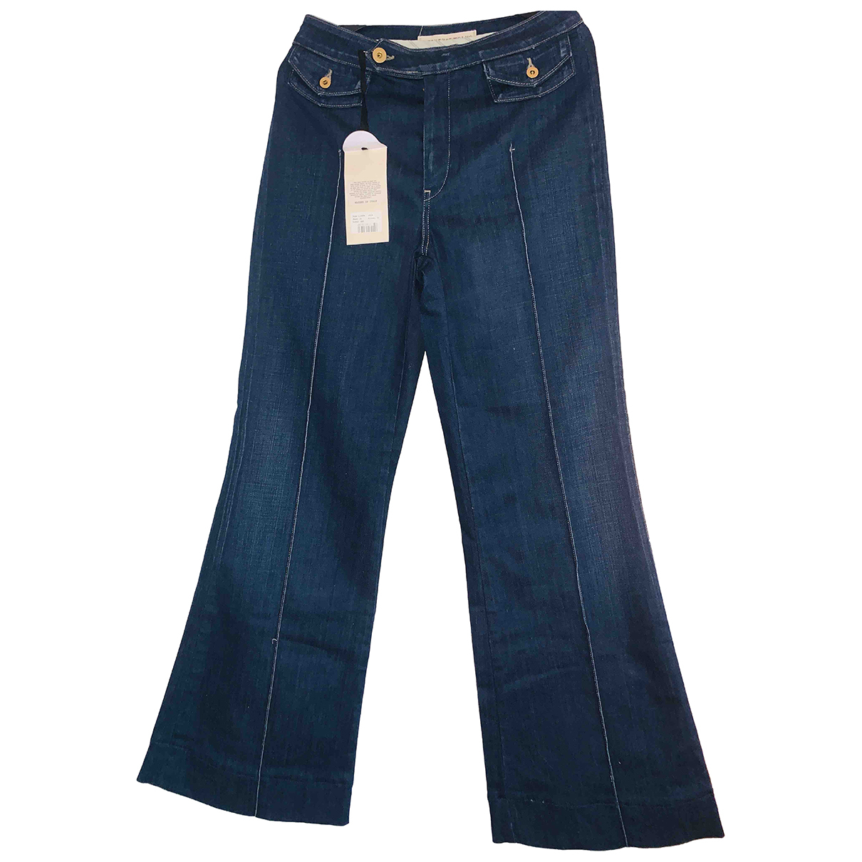Twenty8twelve By S.miller N Blue Cotton Jeans for Women 34 FR