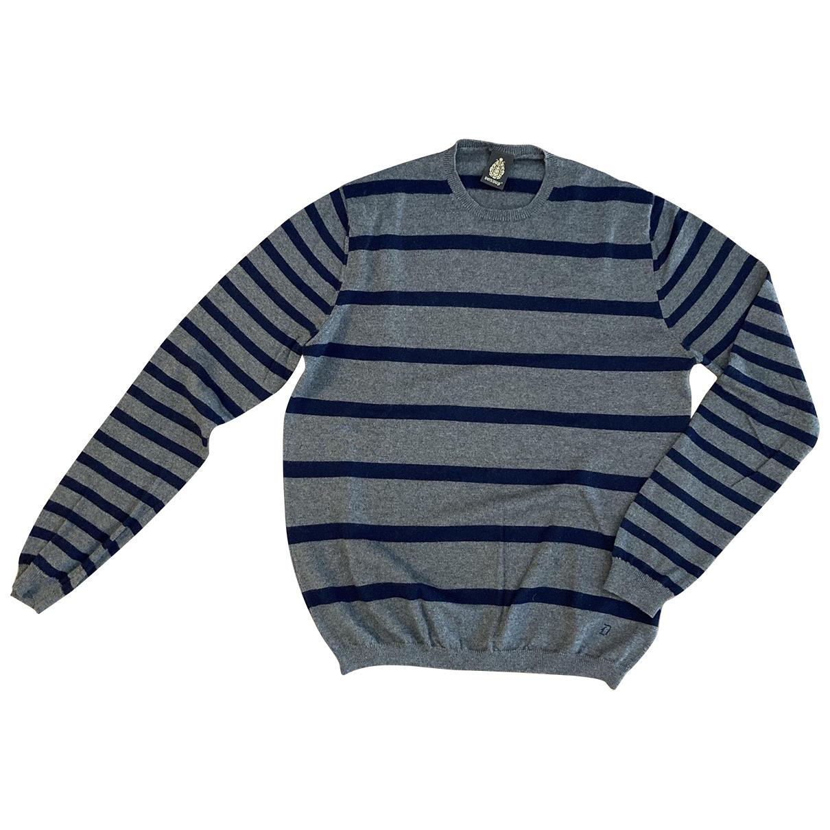Dondup \N Pullover.Westen.Sweatshirts  in  Grau Wolle