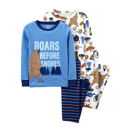 Carter's Little Boys 4-pc. Pajama Set, 7 , Blue