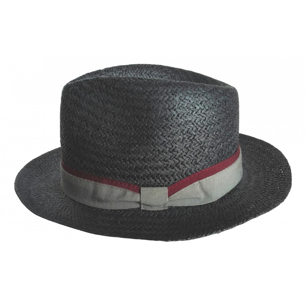 - Chapeau   pour femme en paille - bleu