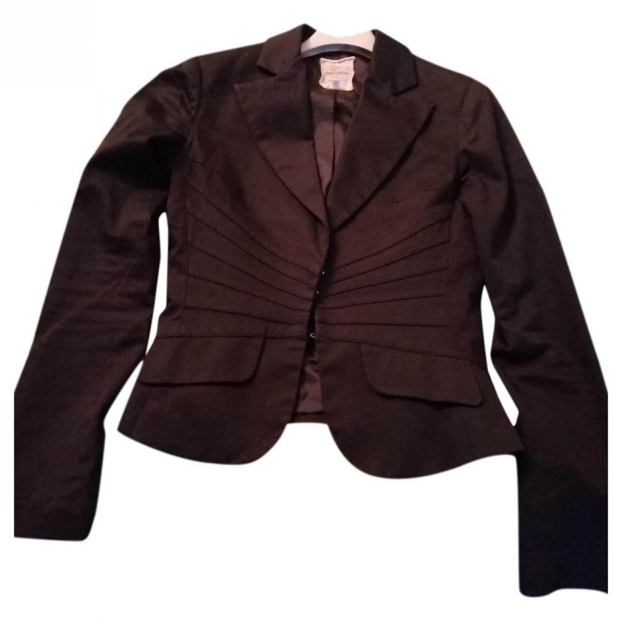 Imperial - Veste   pour femme en coton - noir