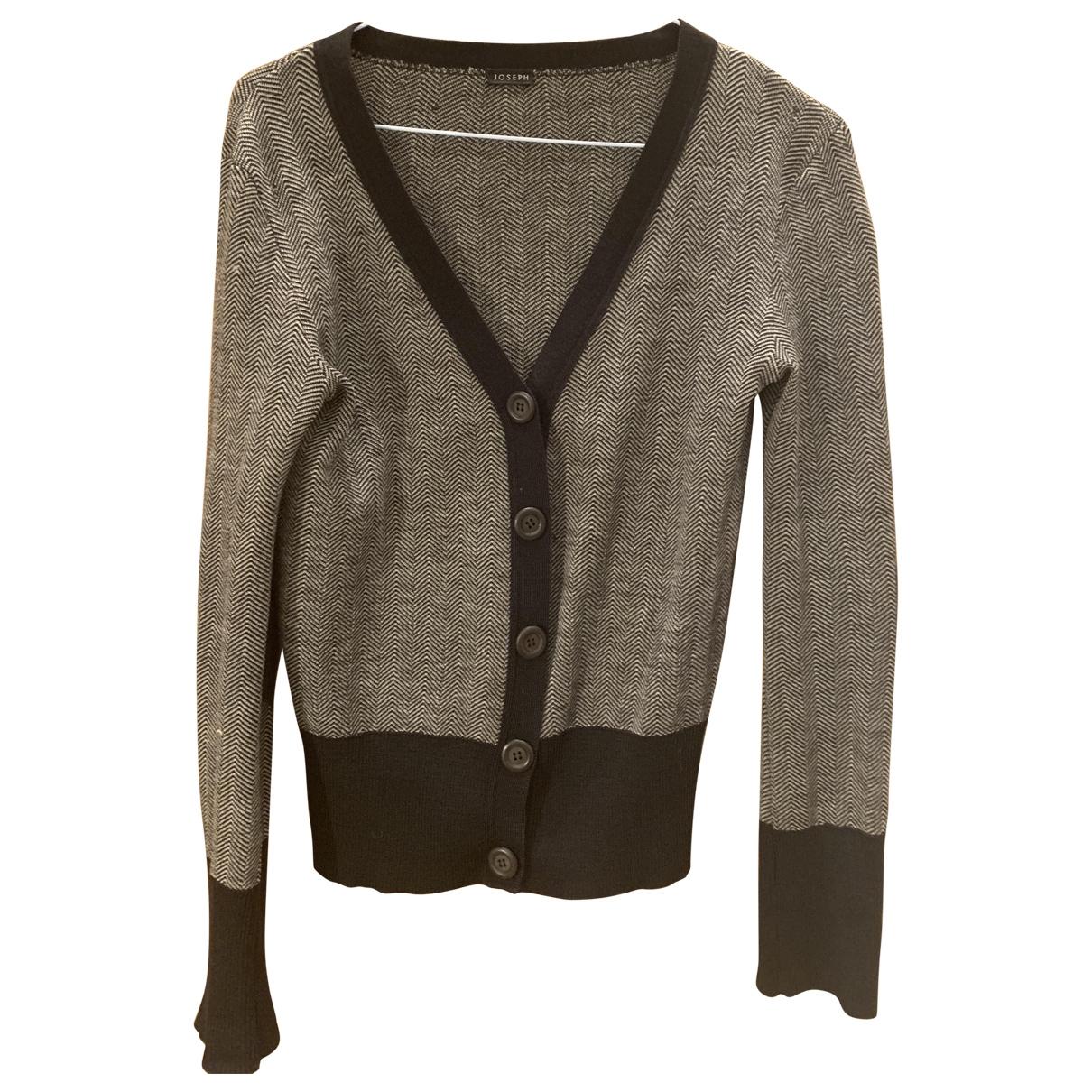Joseph - Pull   pour femme en laine - noir
