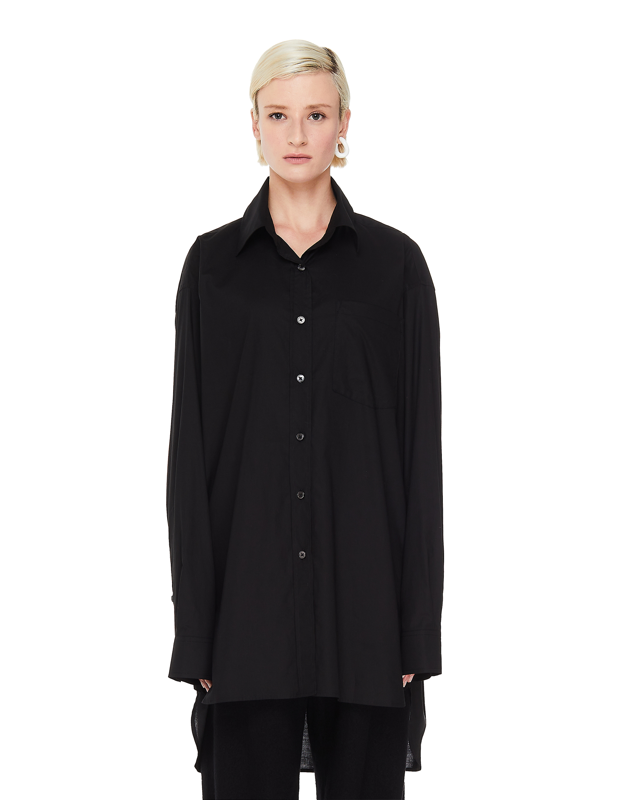 Ann Demeulemeester Elongated Back Shirt