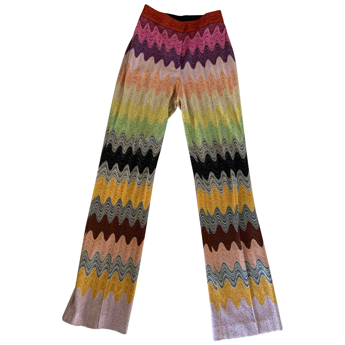 Missoni \N Multicolour Trousers for Women 40 IT