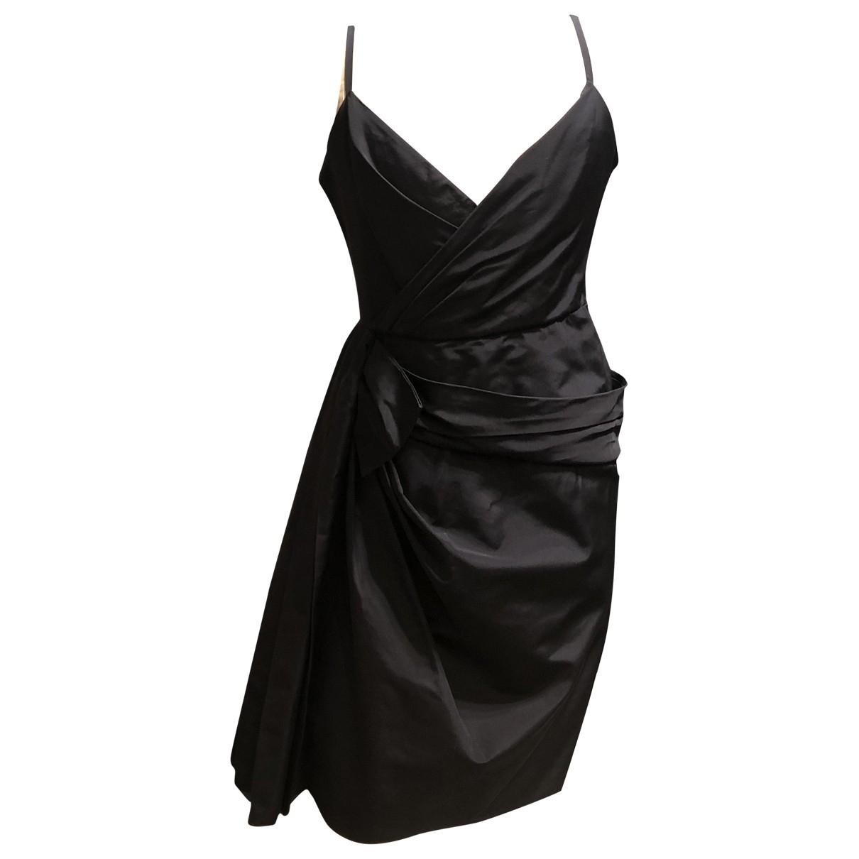 Dior \N Black Silk dress for Women 42 FR