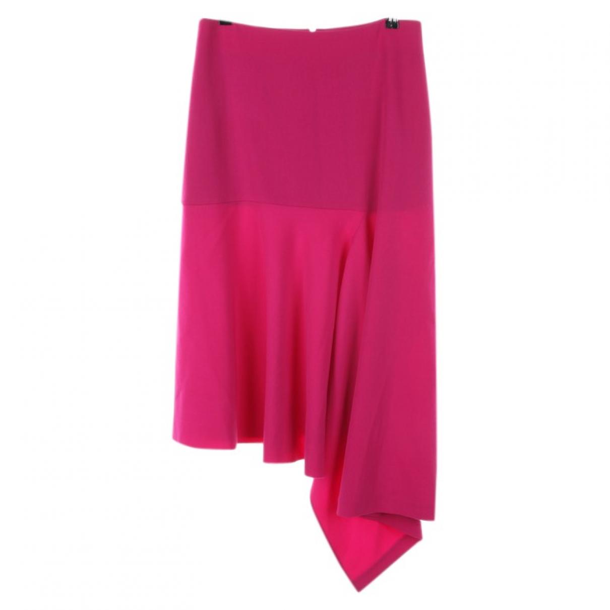 Balenciaga \N Rocke in  Rot Polyester